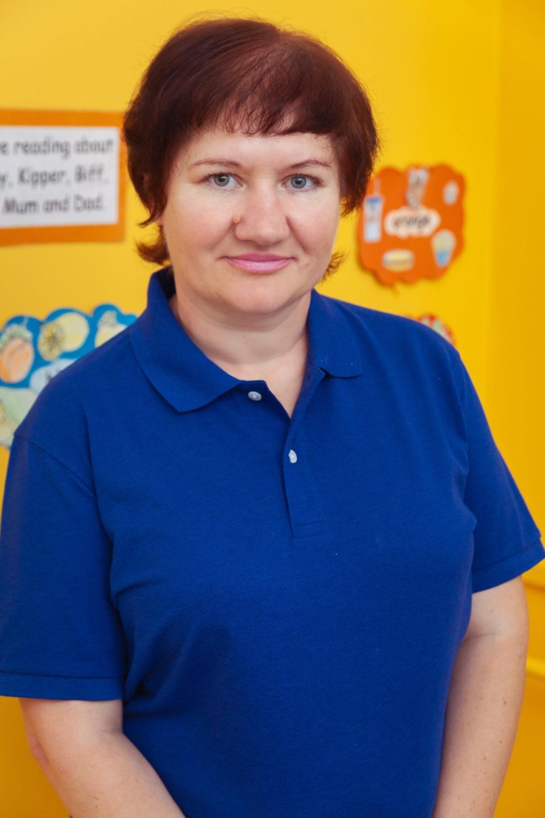 Miss Nanalia Reception teacher